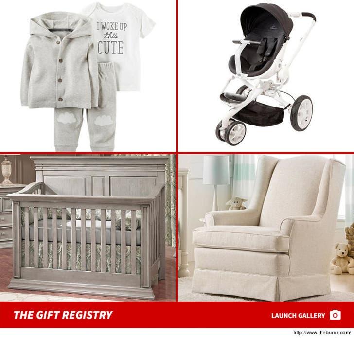 Monique Esposito's Baby Shower Registry Items