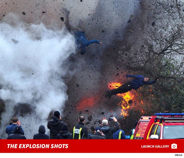 Stuntman Explosion on 'Angel Has Fallen' Set