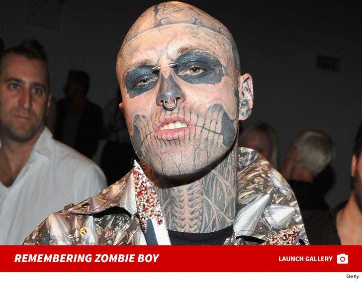 Remembering Zombie Boy