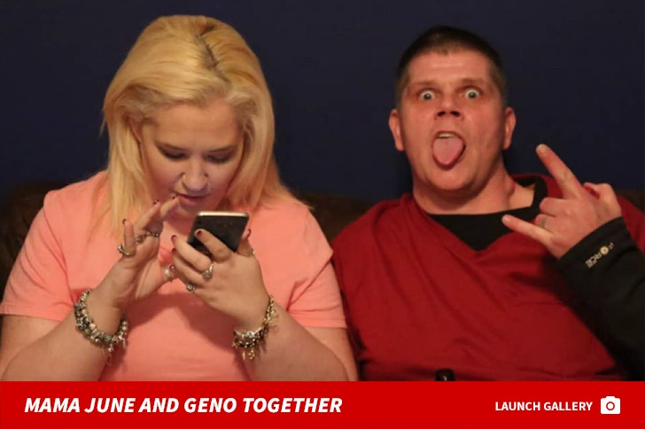 Mama June and Geno Doak Together