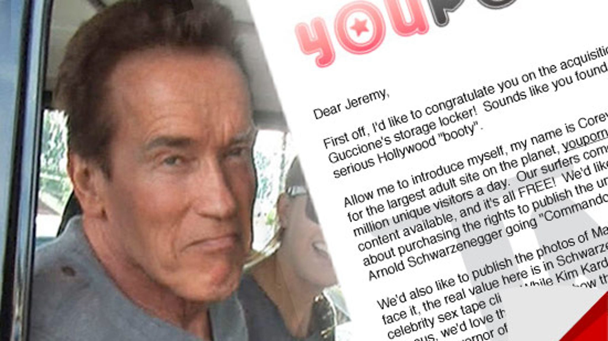 Arnold Schwarzenegger sex photo could sell for $150,000