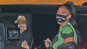 Karl-Anthony Towns, Jordyn Woods Mask It for Sushi Date, Still Just Friends?