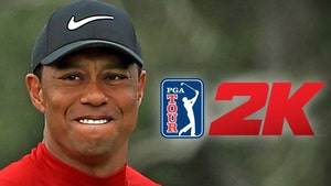 Tiger Woods Signs Massive Video Game Deal with 'PGA Tour 2K' Franchise