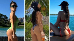 Kourtney Kardashian's Booty-ful Shots