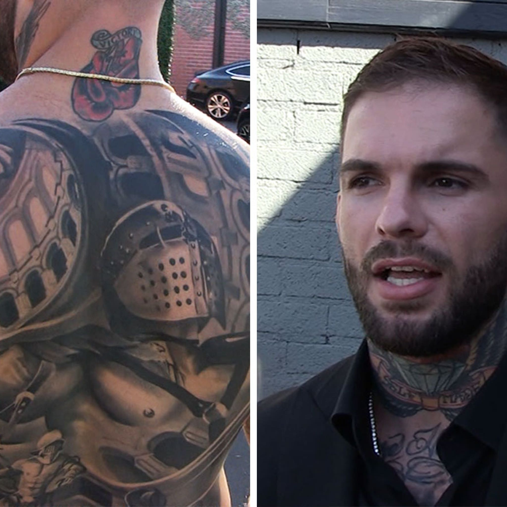 Cody Garbrandt Shows Off Insane Back Tat, Took 25 Hours to Complete!