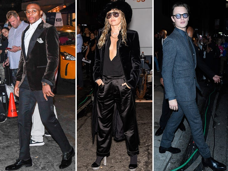 Stars Gets Stylish For Tom Ford's NYFW Show