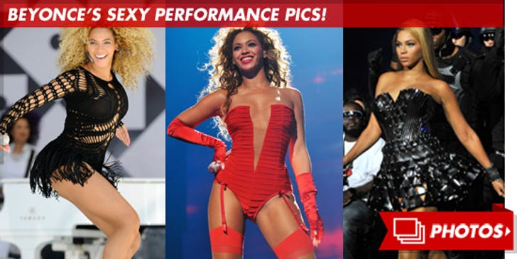 Beyonce's Sexy Performance Pictures!