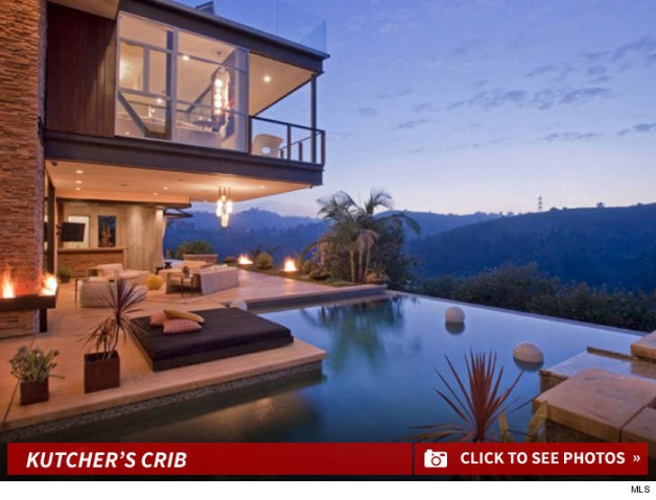 Ashton Kutcher --Selling Lake Hollywood House