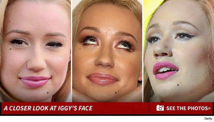 A Closer Look At Iggy Azalea's Face!