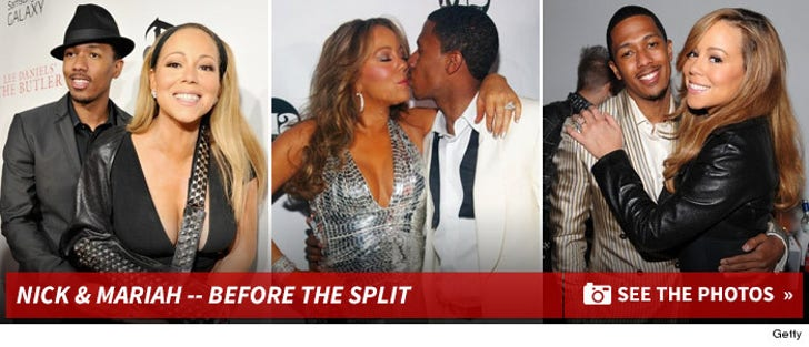 Mariah Carey and Nick Cannon -- Before The Split!