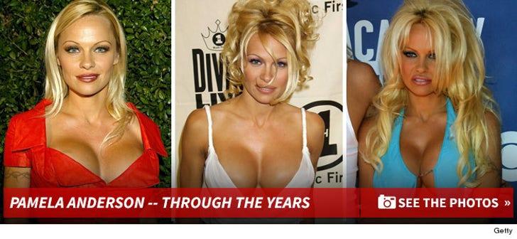 Pamela Anderson's Sexy Photos