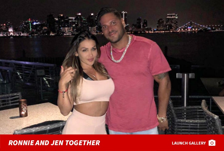 Ronnie Ortiz-Magro and Jen Harley Together