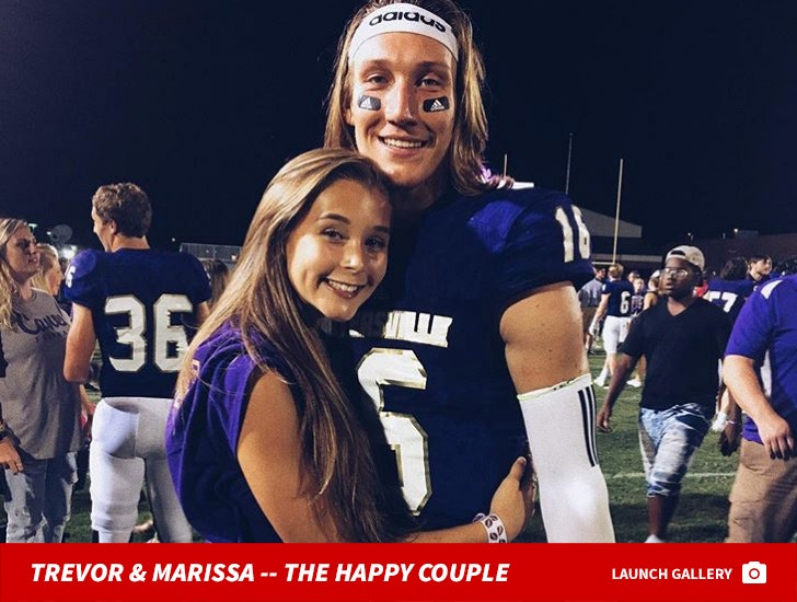 best cheap 70107 84560 Trevor Lawrence's GF Predicted Clemson National Title 2 ...