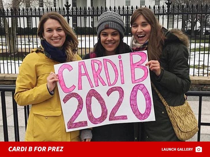 Cardi B For Prez