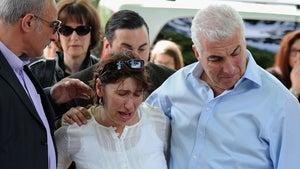 Amy Winehouse's Parents Visit Apartment Shrine