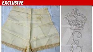 Queen Elizabeth II -- Underwear Up for Auction