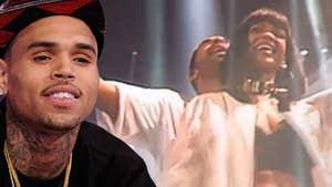 Chris Brown -- I'm Not Mad at Rihanna ... For Banging Drake Again