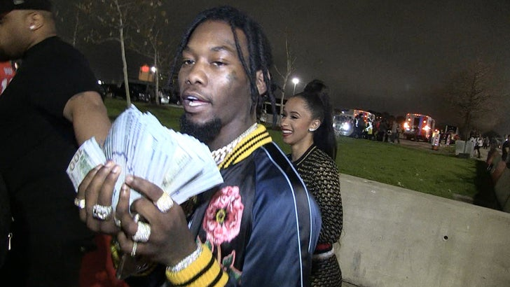 Migos Offset Explains Why He Married Cardi B: Offset From Migos Lost $50k On Falcons ... Rebounds With