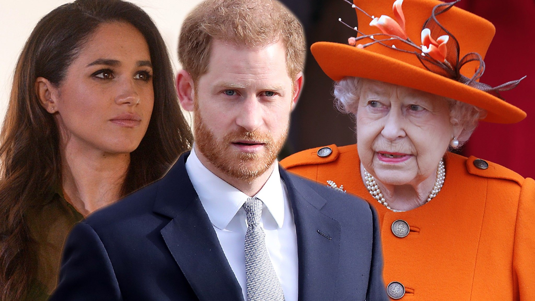 Harry and Meghan Call BS on Queen ... She Doesn't Own Term 'Royal'