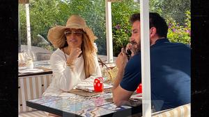 Ben Affleck & J Lo Keep Birthday Week Lovefest Going in Italy