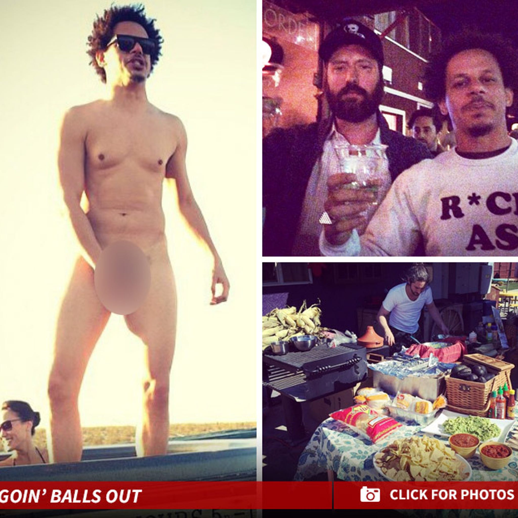 Adult Swim Star Eric Andre Naked And Not Afraid Throws Epic