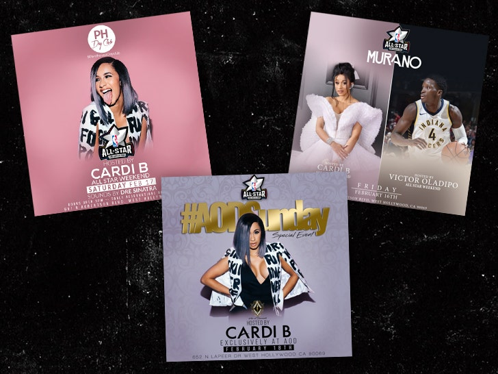 Cardi B's Gang Beef Forces L A  Nightclubs to Call in Armed Backup