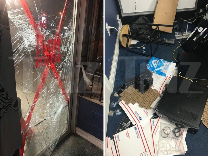 Dog the Bounty Hunter Store Burglarized -- The Crime Scene