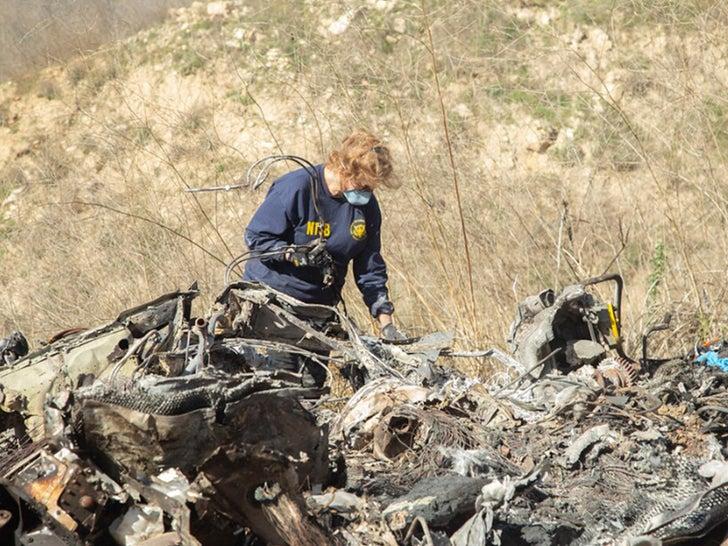 Kobe Bryant's Helicopter Crash Site