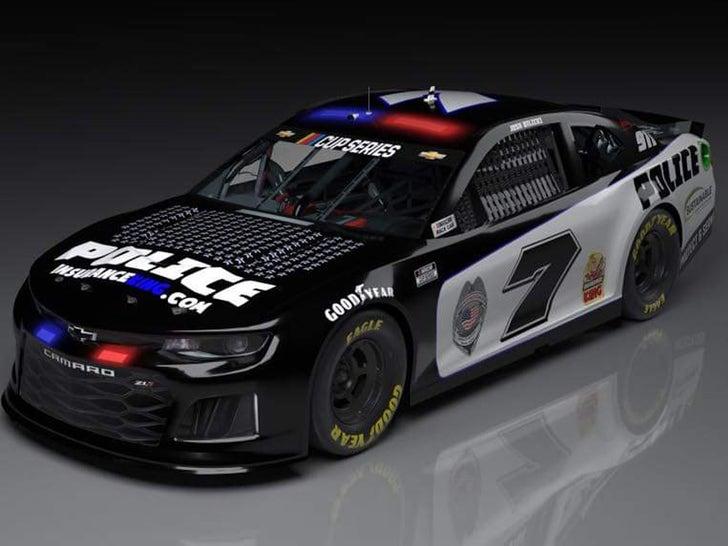 Josh Bilicki's Police Car