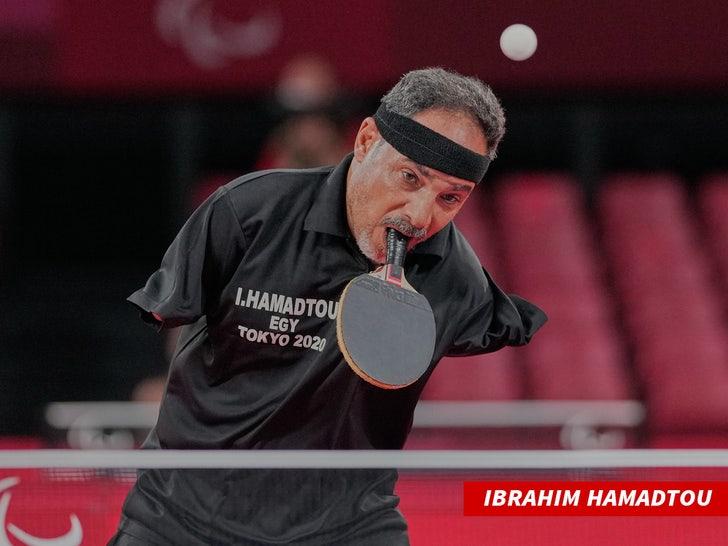 Egypt's Ibrahim Hamadtou