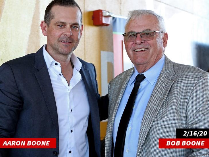 Bob Boone and Aaron Boone