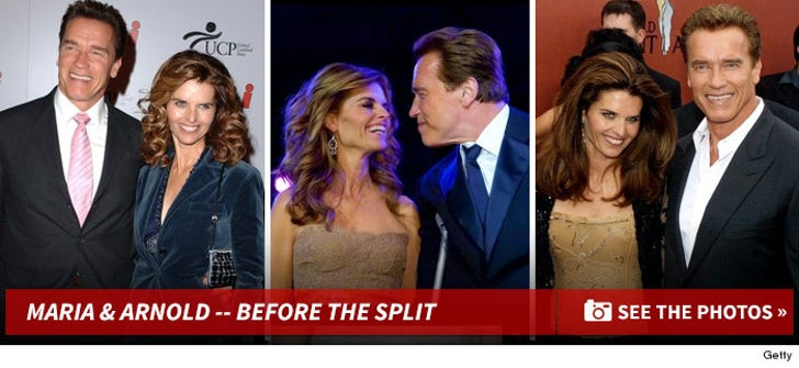 Arnold and Maria -- Before the Split!