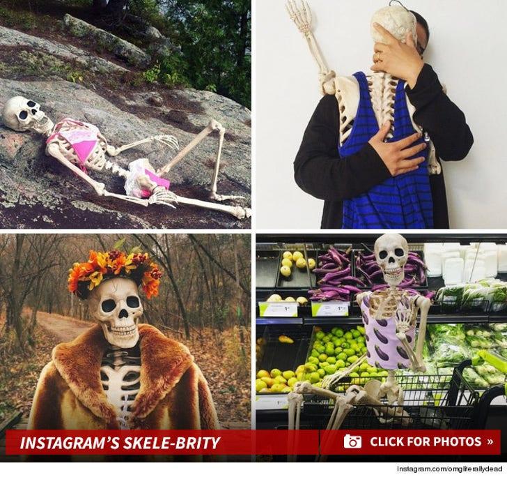 OMGLiterallyDead -- Instagram's Skele-brity!