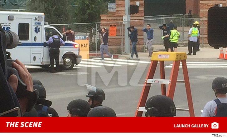 UCLA Shooting -- The Scene