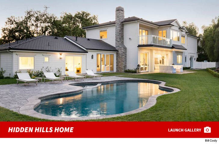 Scott Disick's Hidden Hills House