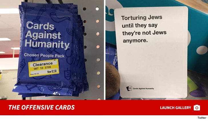 Cards Against Humanity at Target