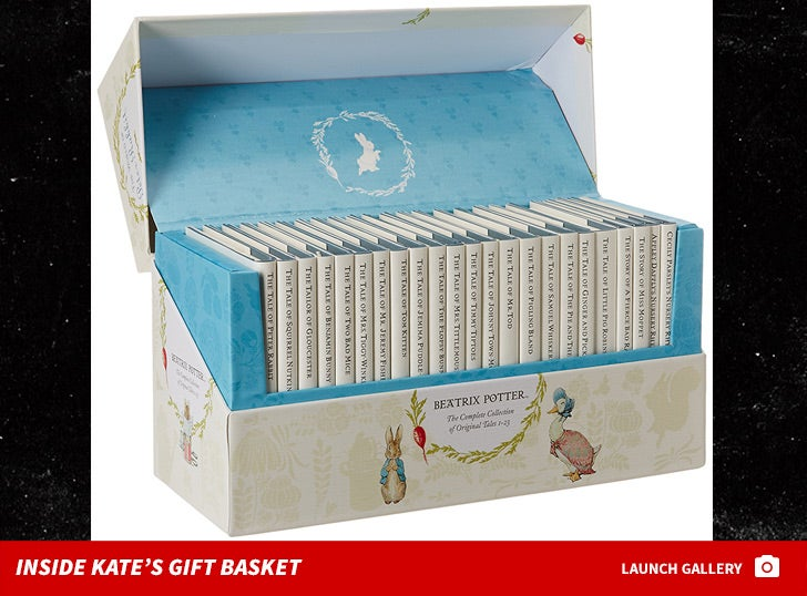 Kate Middleton's Baby Gift Basket