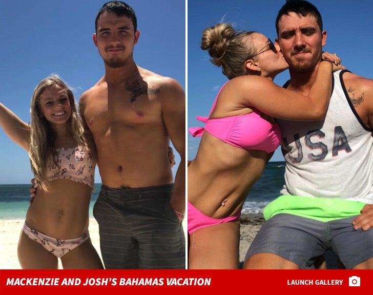 Mackenzie and Josh McKee -- Bahamas Vacation Photos