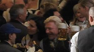Broke Ass Boris Becker Rages at Oktoberfest, No Money? No Problem!