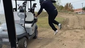 Tony Romo Punked On Golf Course By Fake Snake, 'Son Of A Bitch!'