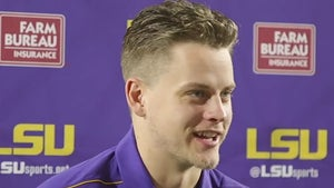 LSU's Joe Burrow On President Trump At Alabama Game, 'It's Pretty Cool'