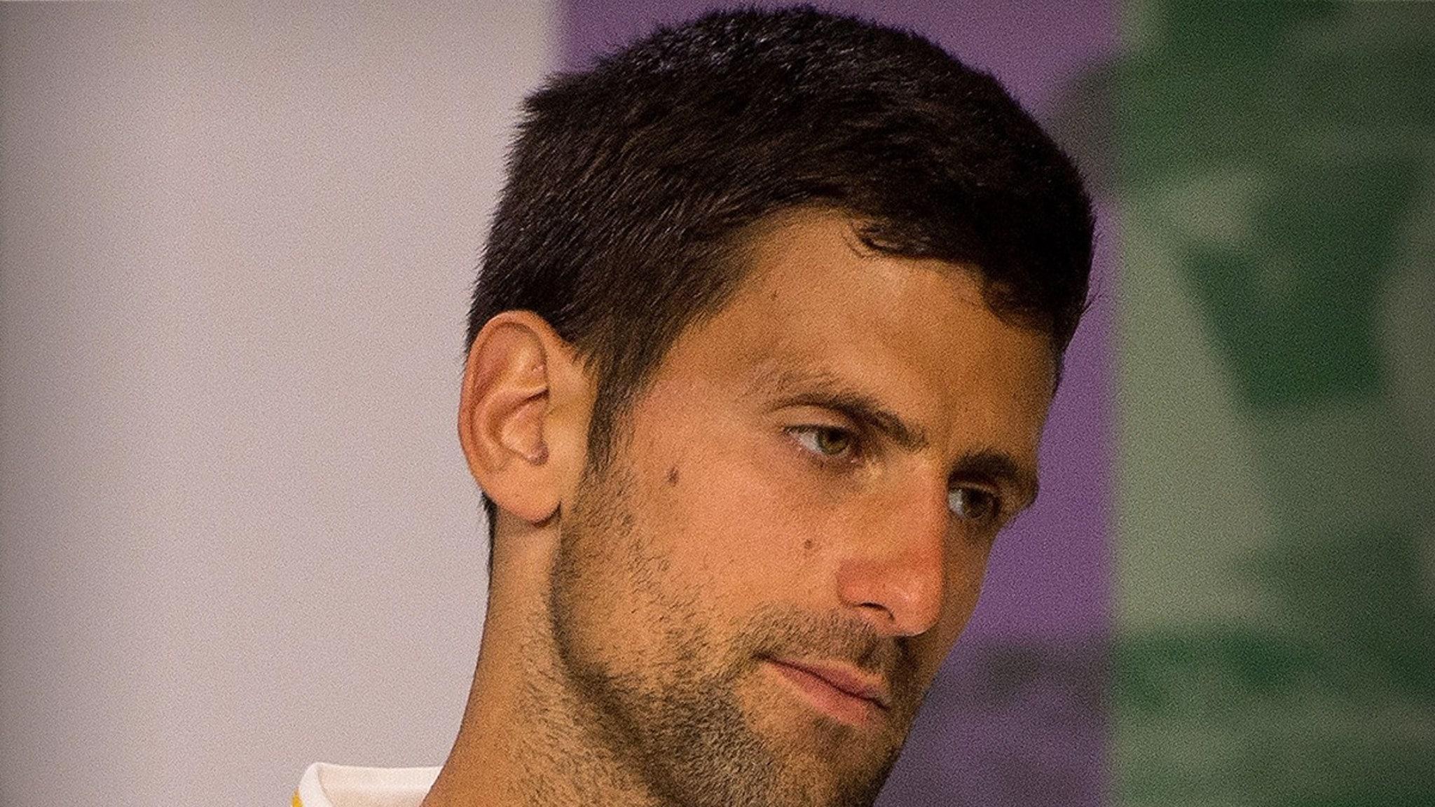 Novak Djokovic I'm Victim of COVID-19 'Witch Hunt' ... After Doomed Tourney