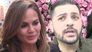 Chrissy Teigen Rips Michael Costello, He Insists He's Telling the Truth