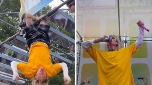 Machine Gun Kelly Performs Surprise Set at Lollapalooza