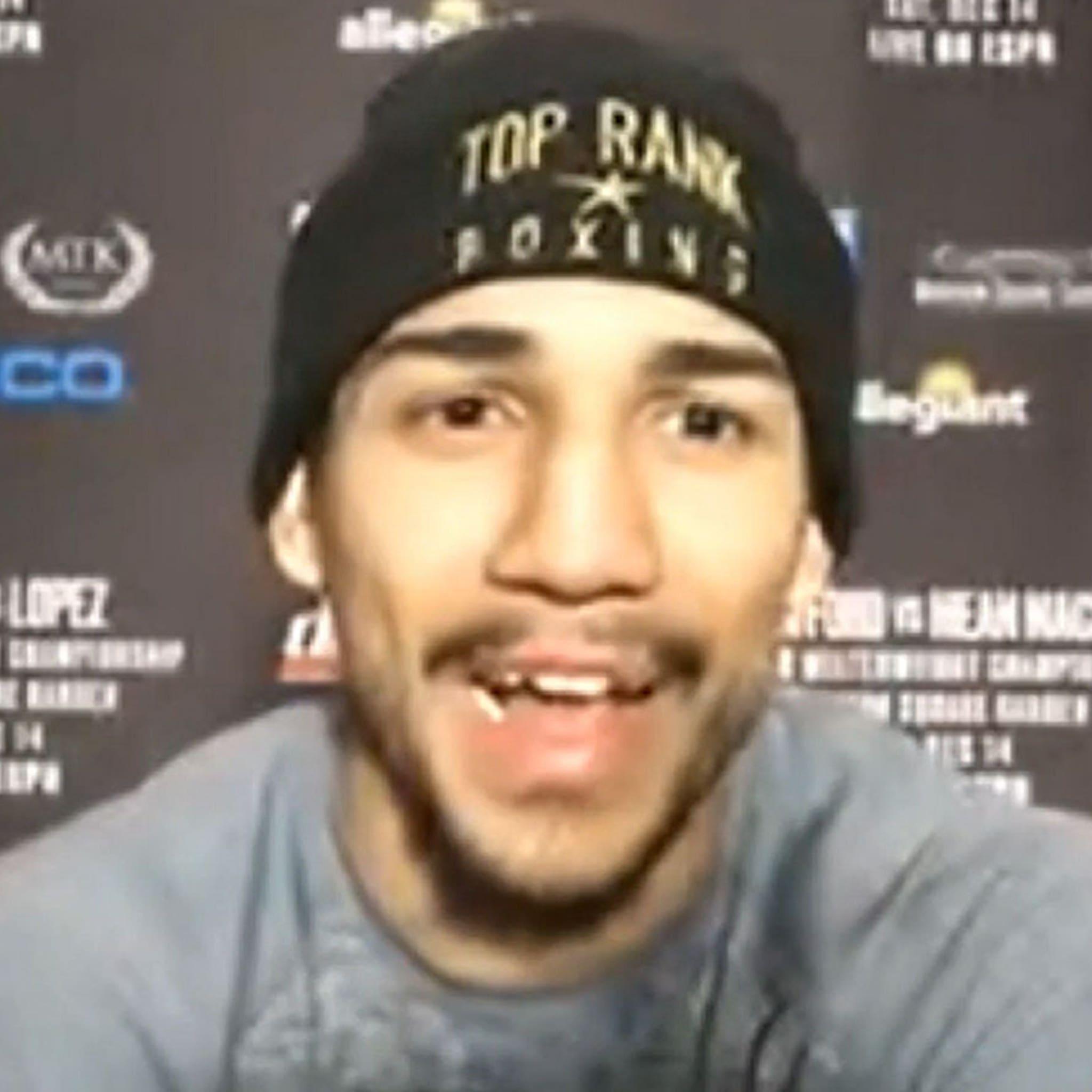 Boxer Teofimo Lopez Says He's Gonna Slap the S**t Outta Vasyl Lomachenko