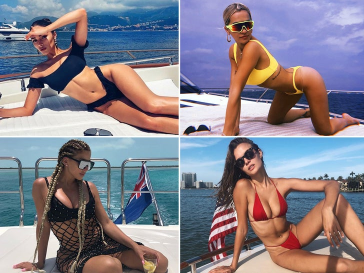 Babes On Boats -- Ahoy Ladies!