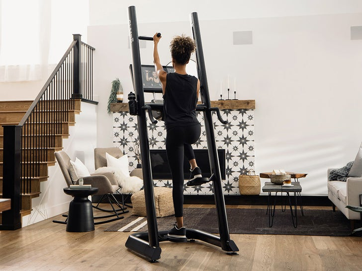 CLMBR Exercise Machine in Action