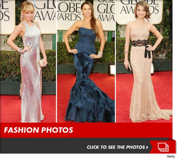 2012 Golden Globes -- The Hits, Runs and Errors