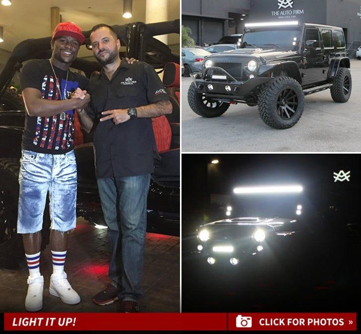 Floyd Mayweather's New Avorza Jeep