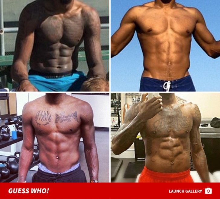 NBA All-Star Abs -- Guess Who!